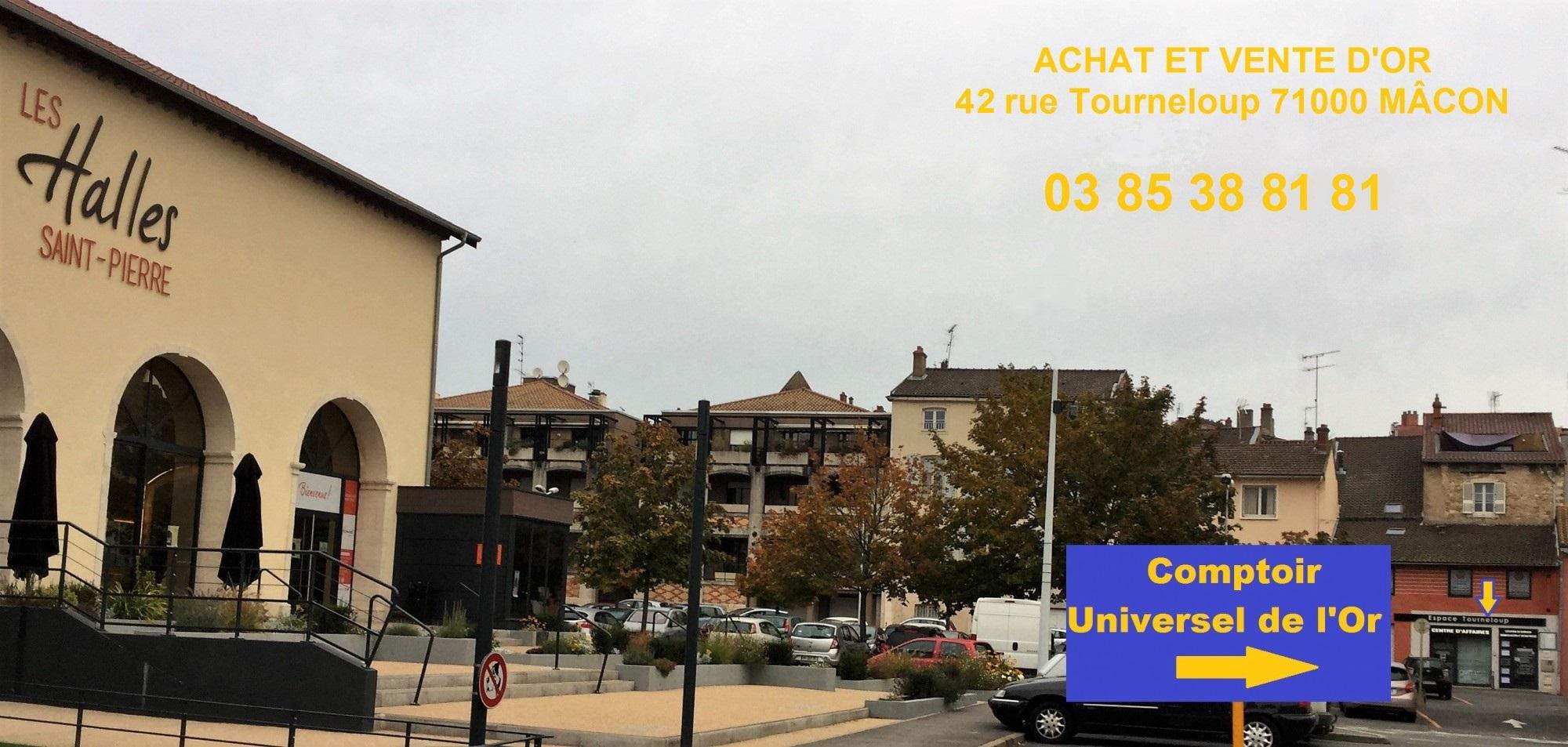 ACHAT OR ET VENTE D OR A MÂCON DEPUIS LE 3 JANVIER 2017