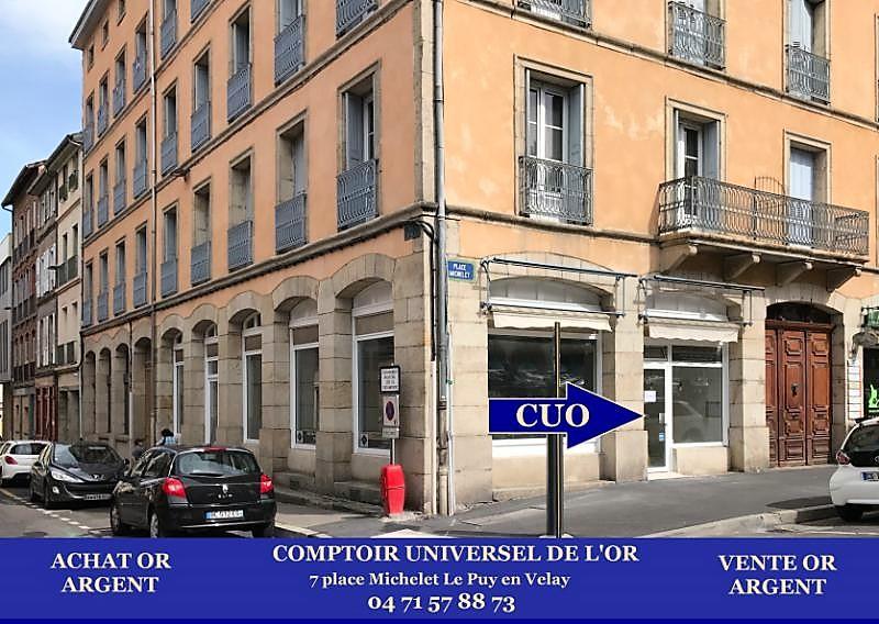 Le Comptoir Universel de l'Or bientôt au Puy en Velay pour un rachat d'or au meilleur prix de l'or