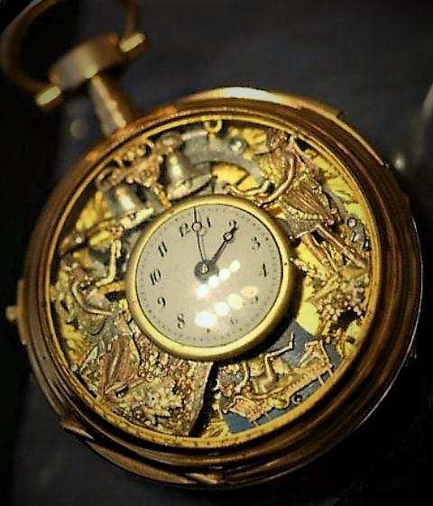 La montre en or, un bijou qui passa à la guillotine argentée de la Révolution: par le comptoir d'achat or Chalon sur Saône