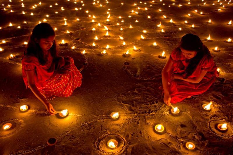 Le comptoir universel de l'or Mâcon a fêté Diwali, la fête de la lumière en Inde