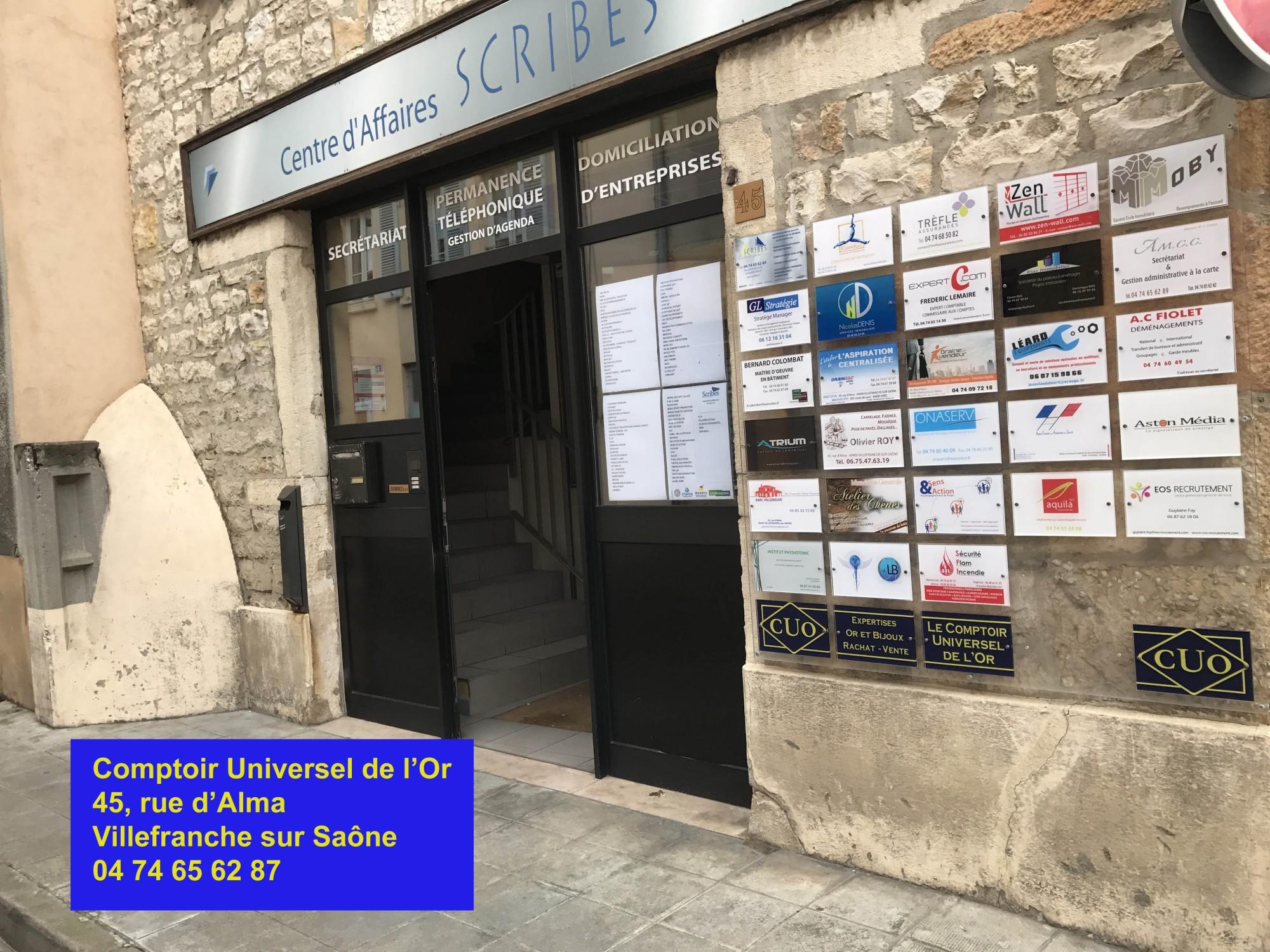 Comptoir Universel de l'or Villefranche