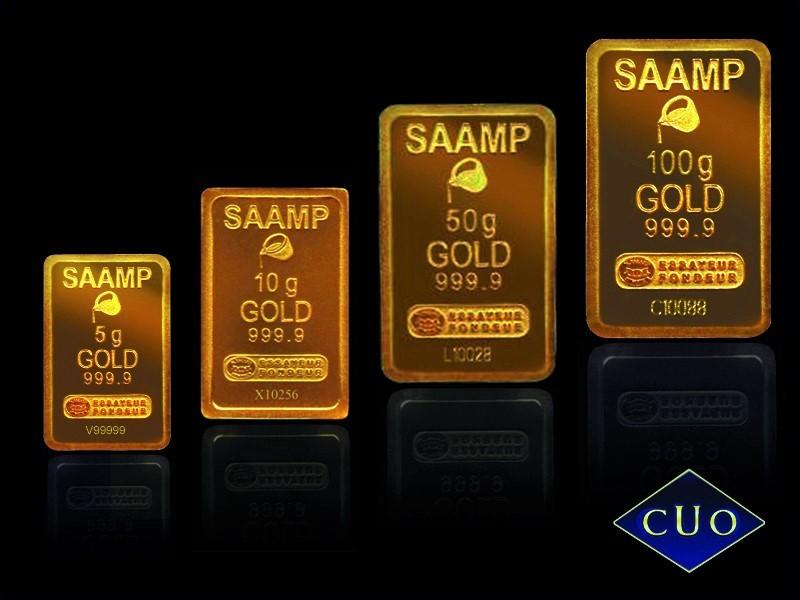 Acheter de l'or en lingotins, lingots et pièces de monnaie or: un investissement sûr par les comptoirs de Saône et Loire