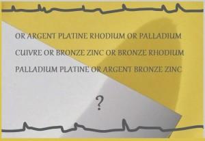 A part l'or ou l'argent, faites vous du rachat de platine ou d'autres métaux précieux à Chalon, Villefranche et Mâcon?