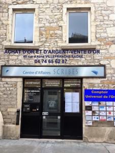 Trouver le Comptoir Universel de l'Or achat d'or et d'argent vente d'or, Villefranche sur Saône, suivez le guide!