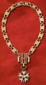 Le collier de l'ordre de la légion d'honneur dans l'actualité, par les comptoirs d'achat d'or Mâcon et Chalon sur Saône