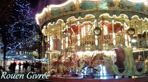 Rouen givrée par le Comptoir Universel de l'Or