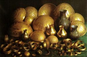 vaisselle en or et en argent de Villena