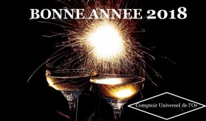 1er anniversaire, 5 janvier 2018, de l'agence d'achat d'or Villefranche sur Saône