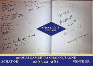 avis client achat or chalon