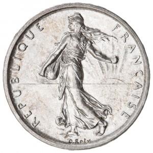 La pièce 5 francs argent semeuse par les comptoirs d'or et d'argent Mâcon Chalon