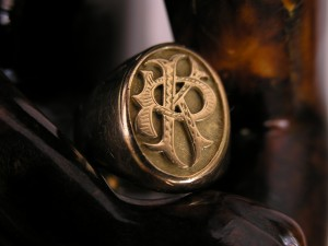 Chevalière, bague en or, Comptoir universel de l'or Claon Macon Villefranche