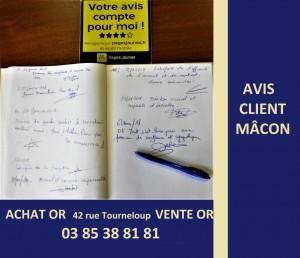 avis client rachat d or Mâcon